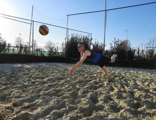Rubriek LeegHoofd: 'Hoe druk ik ook ben, voor volleyballen maak ik altijd tijd'